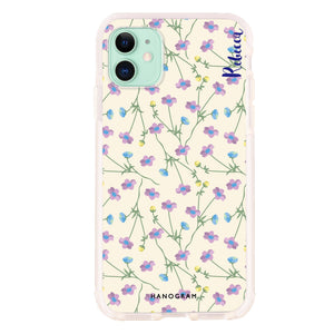 Floral and Hamster Custom Samsung S8 Plus Case