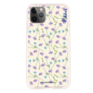 Girly floral Frosted Bumper Case