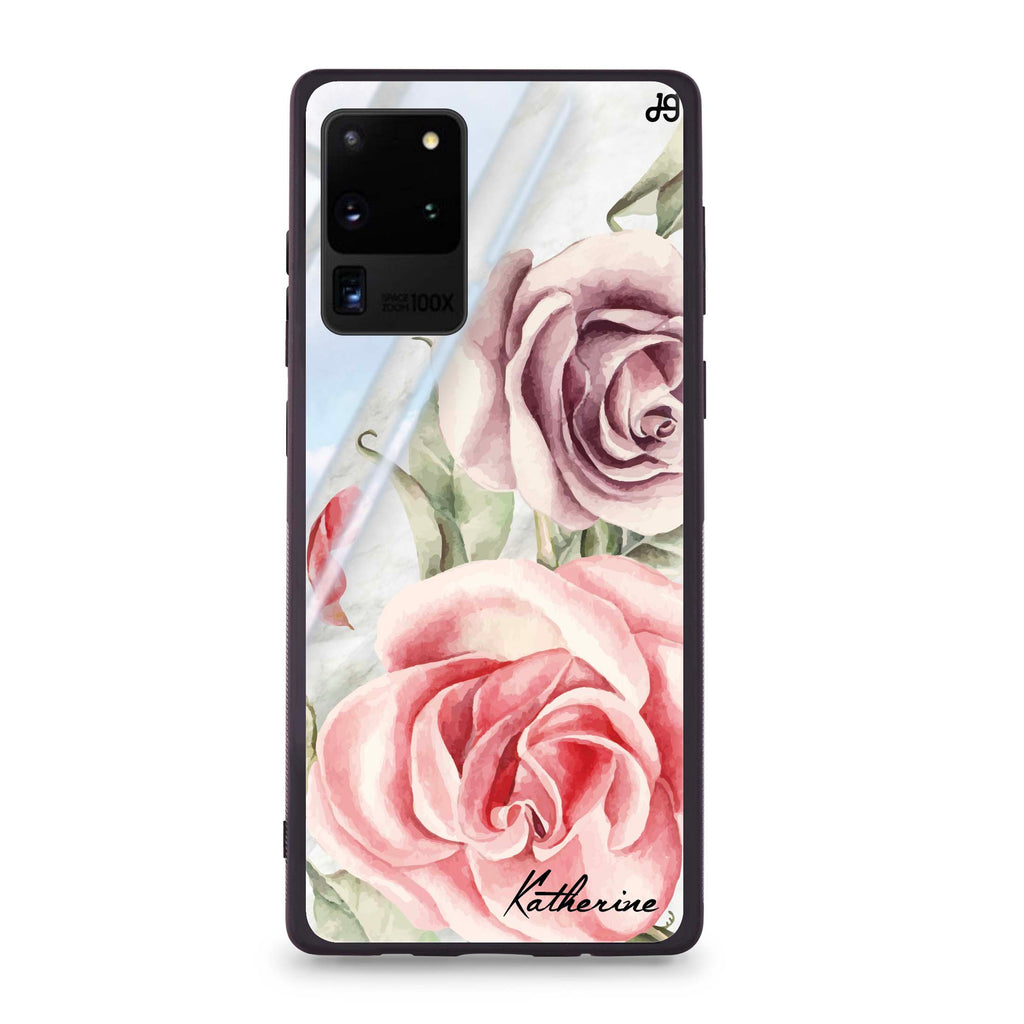 Marble & Rose Samsung S20 Ultra Glass Case