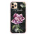 Black Marble Rose Frosted Bumper Case