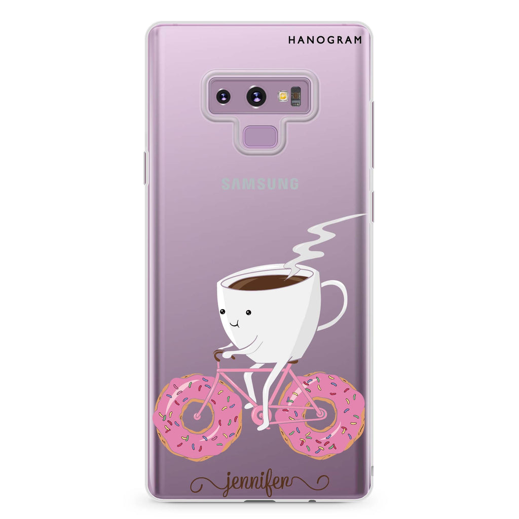 Have a snack Samsung Note 9 Soft Clear Case