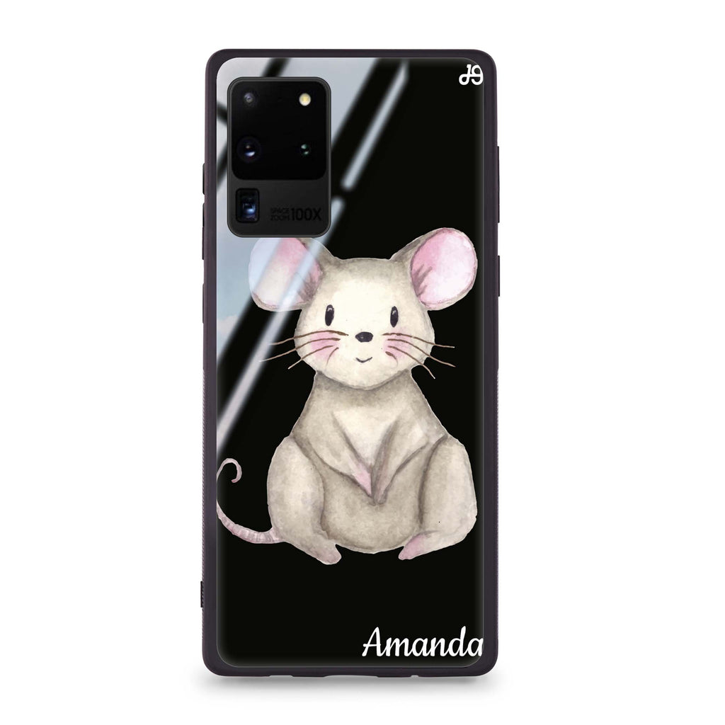 Little Mouse Samsung Glass Case