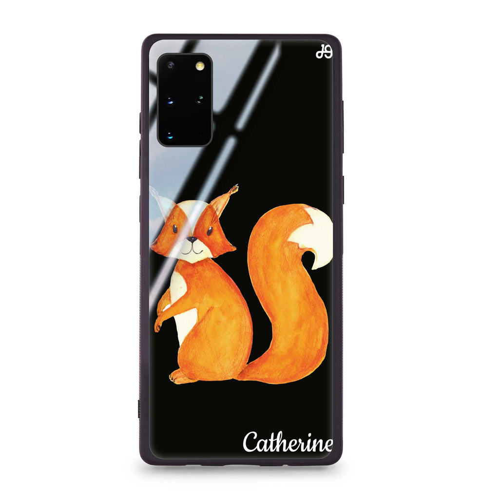 Lovely Fox Samsung S20 Plus Glass Case