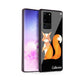 Lovely Fox Samsung Glass Case