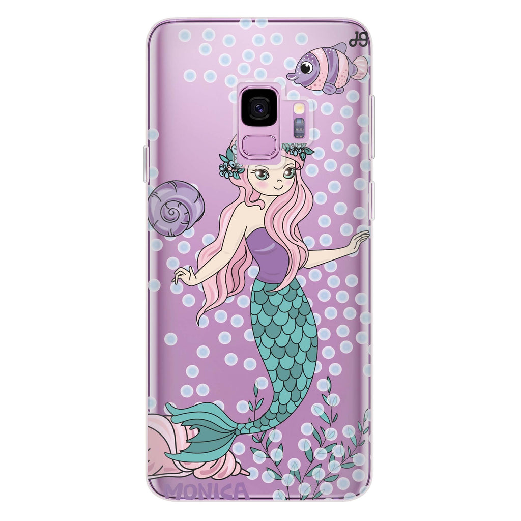 Mermaids Samsung S9 Soft Clear Case