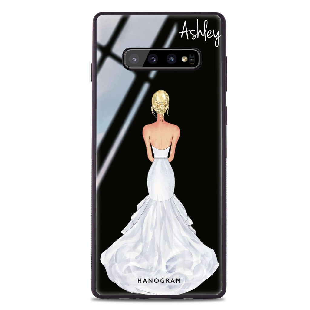 Bride Moment III Samsung S10 Plus Glass Case