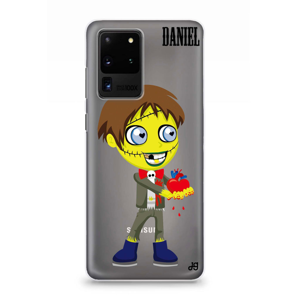 Zombie Love's boy Samsung S20 Ultra Soft Clear Case