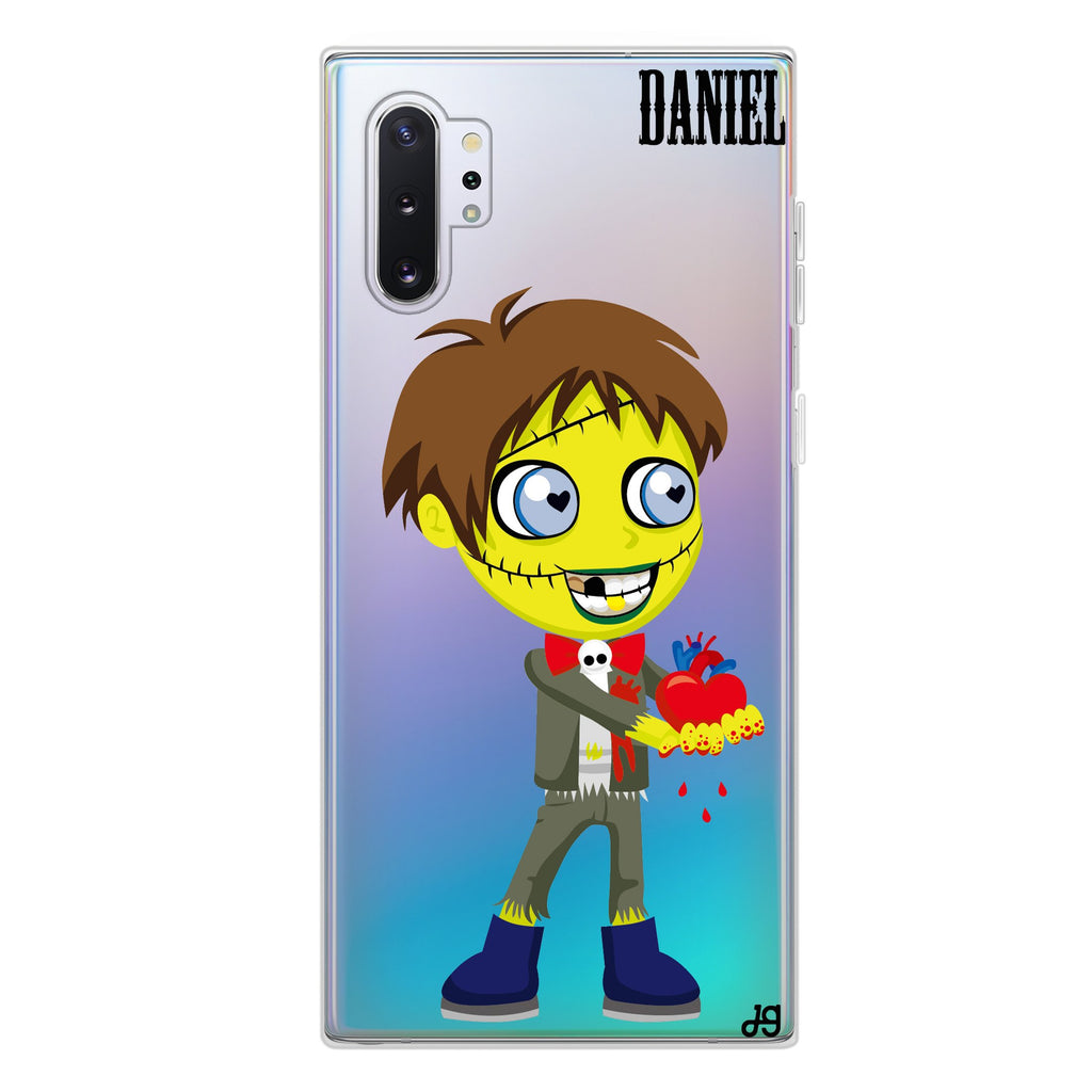 Zombie Love's boy Samsung Note 10 Plus Soft Clear Case