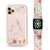 Monogram & Floral - Frosted Bumper Case and Watch Band