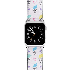 Ice cream Pattern APPLE WATCH BANDS