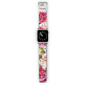 Pretty Floral - Frosted Bumper Case and Watch Band