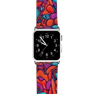 Glitched Monogram APPLE WATCH BANDS