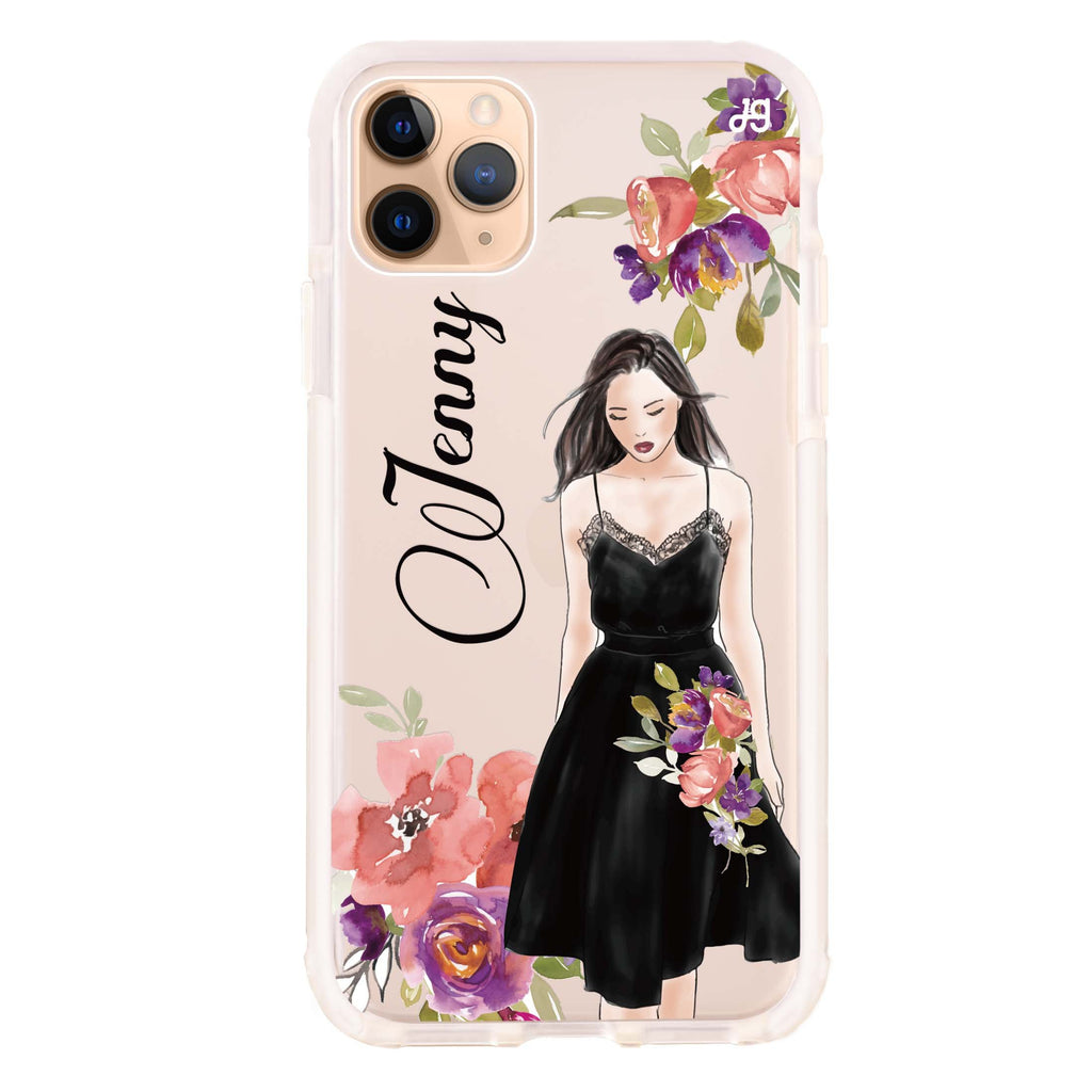 Flower Fashion I iPhone 11 Pro Max Shockproof Bumper Case