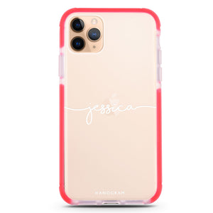 Handwritten Frosted Bumper Case
