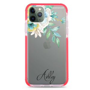 Pretty Floral Frosted Bumper Case