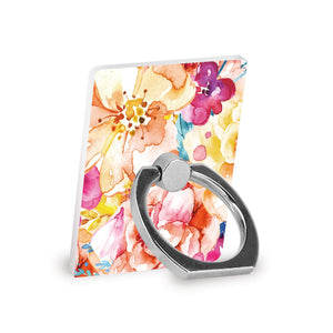 Tropical Watercolor Florals - Ring Stent