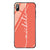 Vertical Handwritten Living Coral Glass Case