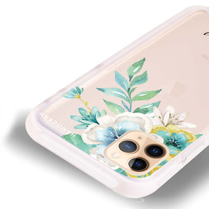 Pretty Floral Shockproof Bumper Case