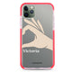 Right Hand heart Shockproof Bumper Case
