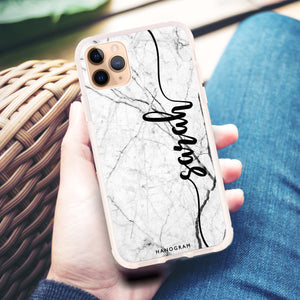 Marble Edition II iPhone 11 Pro Max Frosted Bumper Case