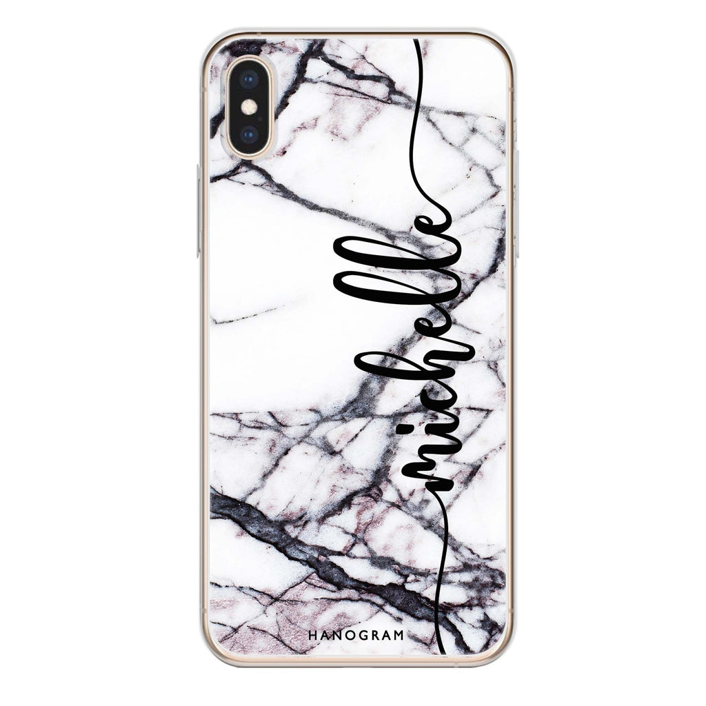 Marble Edition VI iPhone XS Soft Clear Case