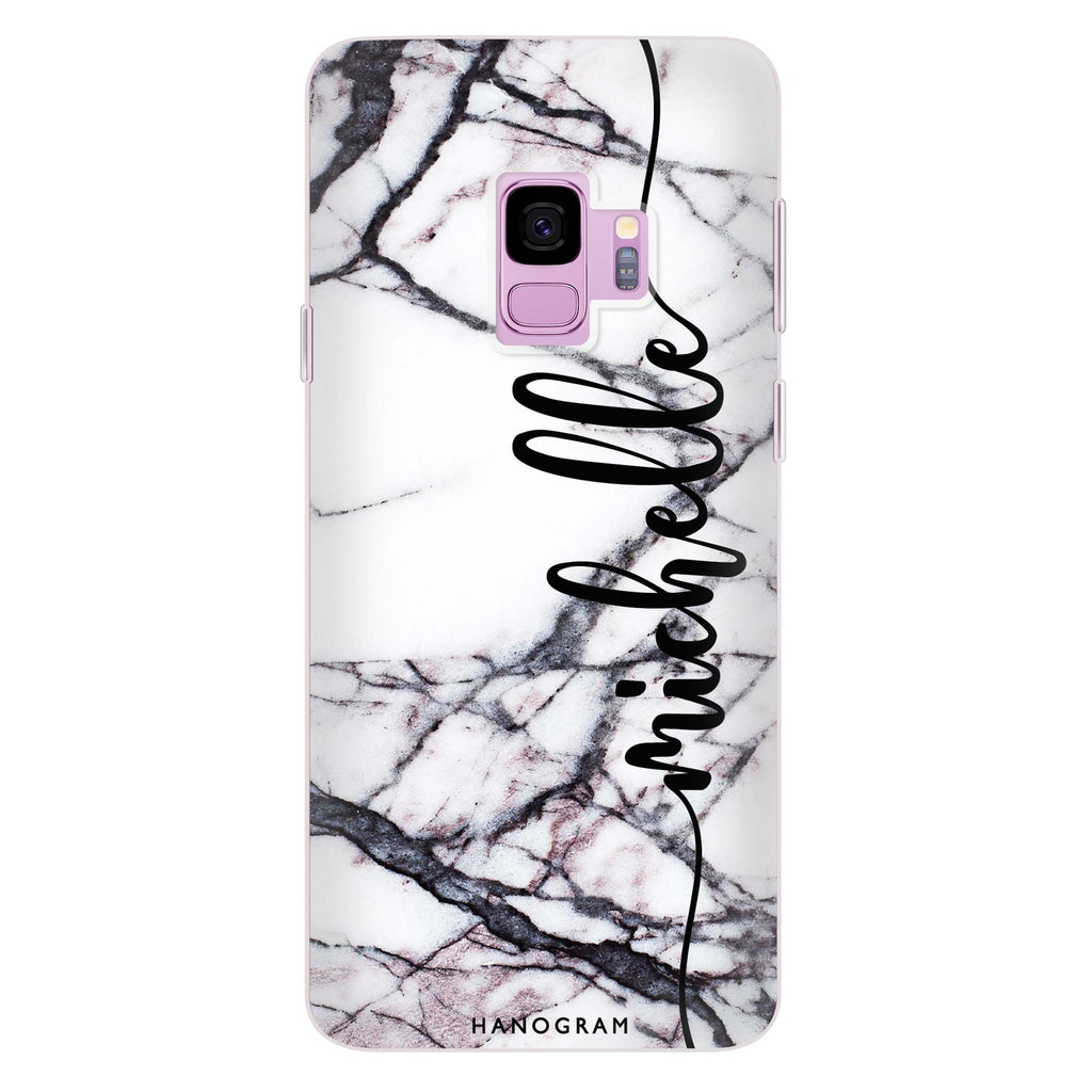 Marble Edition VI Samsung S9 Soft Clear Case