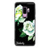White Rose Samsung S9 Plus Glass Case