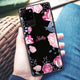 Trendy Flowers Samsung Glass Case