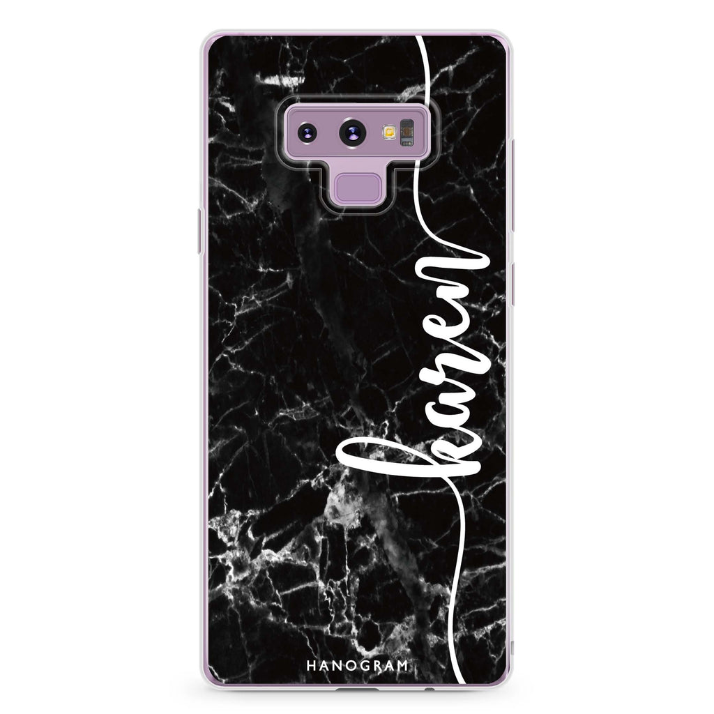 Marble Edition VII Samsung Note 9 Soft Clear Case
