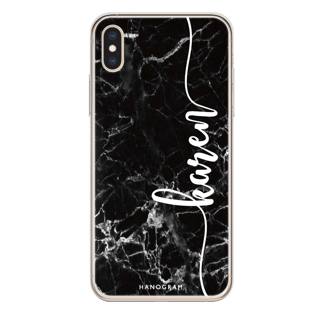 Marble Edition VII iPhone XS Max Soft Clear Case