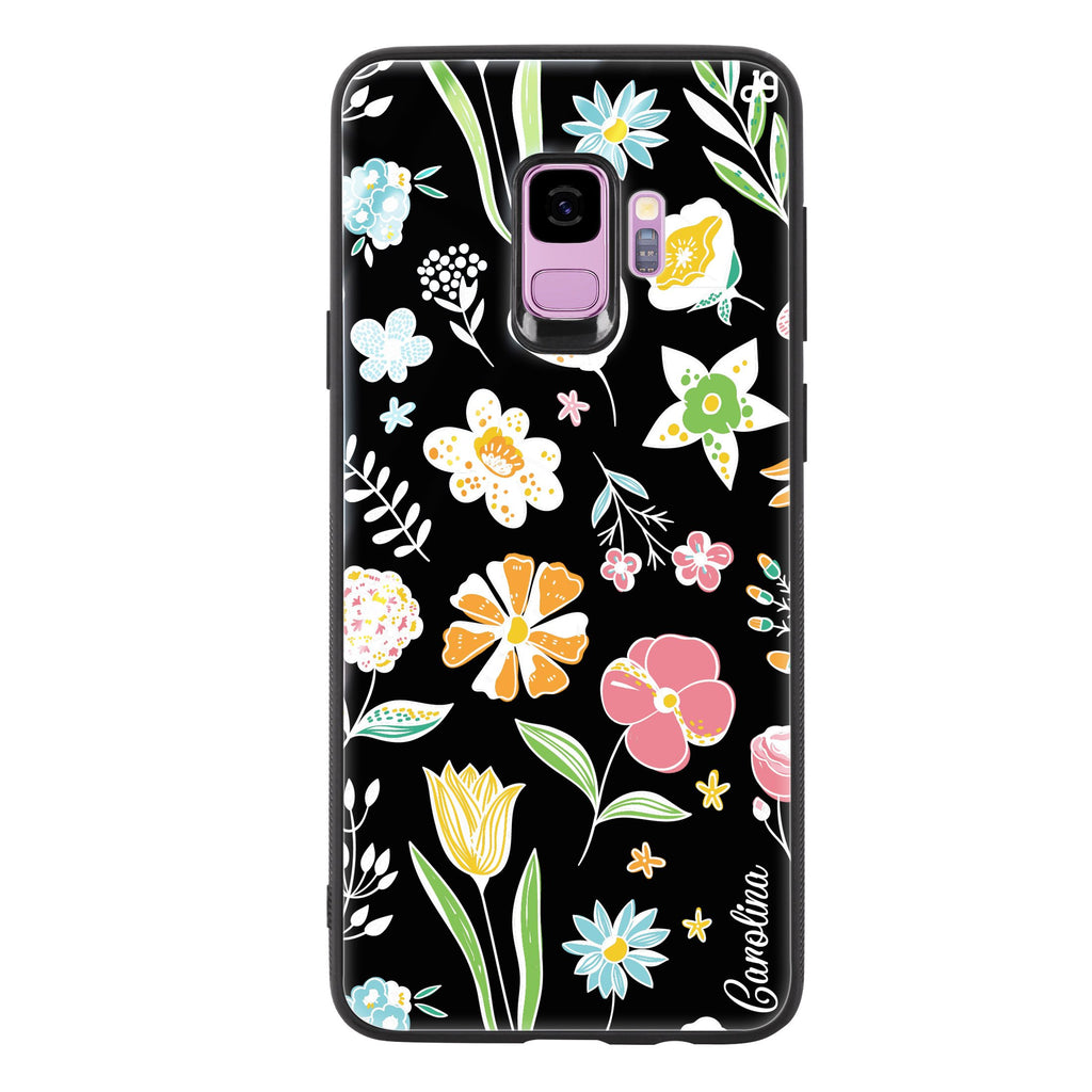 Spring Moment Samsung S9 Glass Case