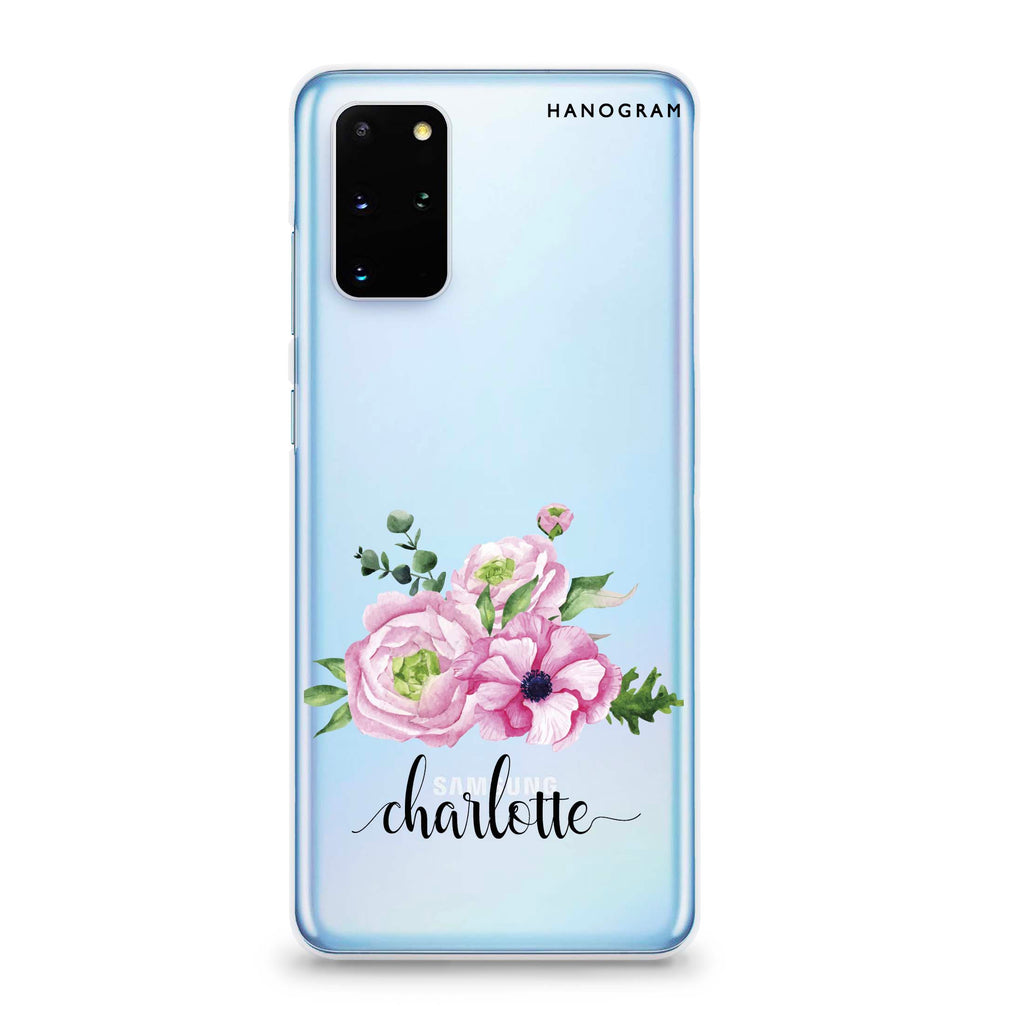 Be Romantic Samsung S20 Plus Soft Clear Case