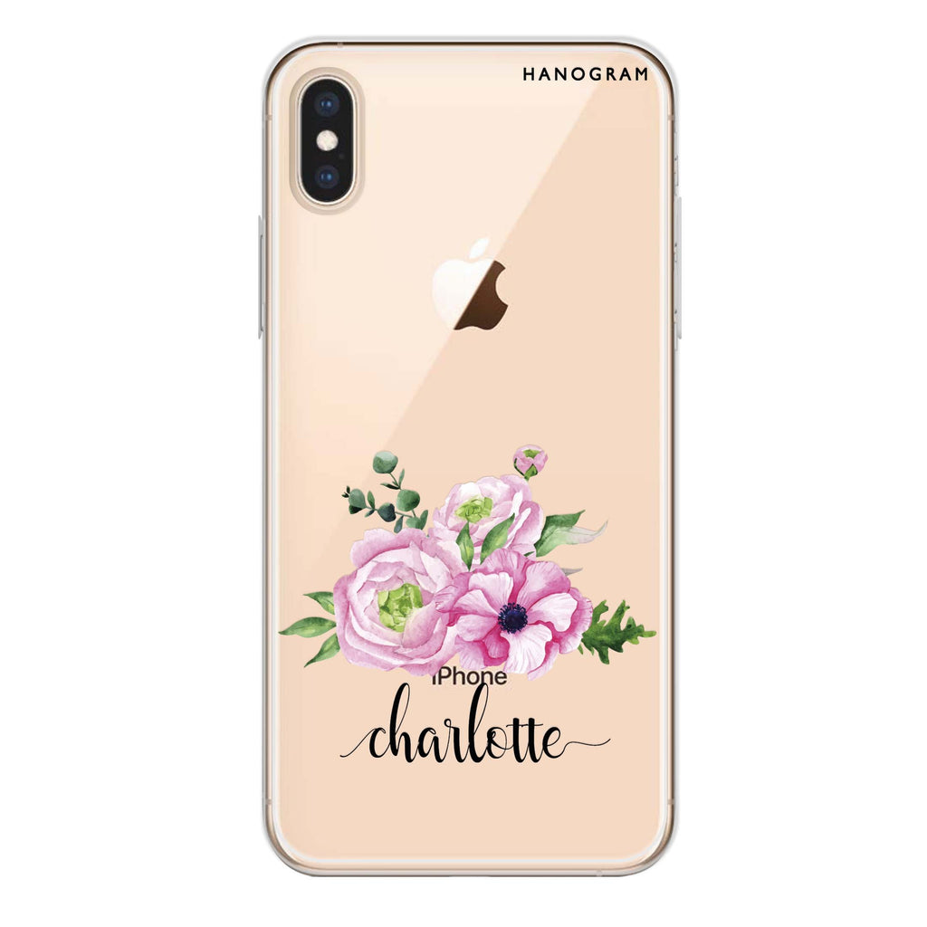 Be Romantic iPhone X Soft Clear Case