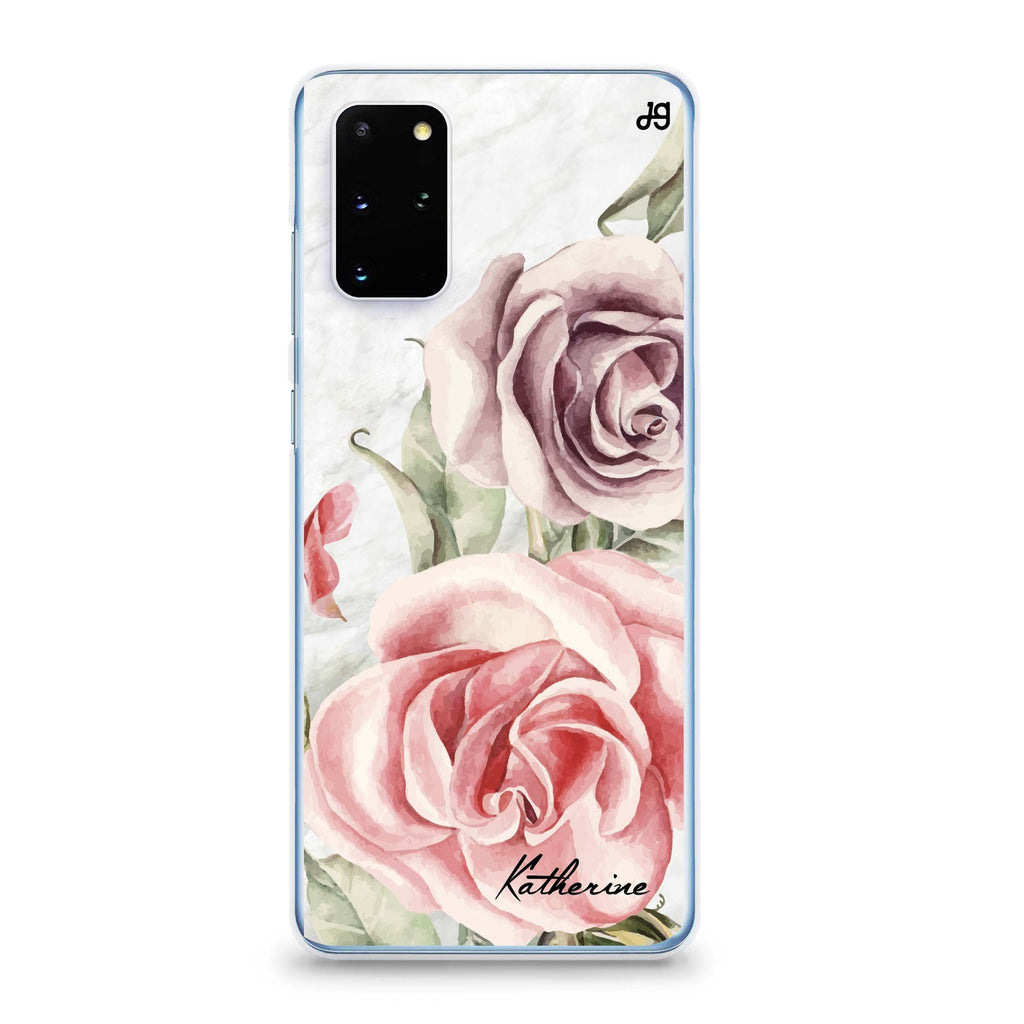 Marble & Rose Samsung S20 Soft Clear Case