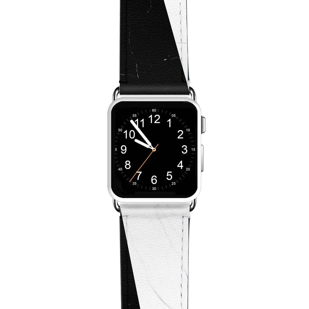 Black And White Marble APPLE WATCH BANDS