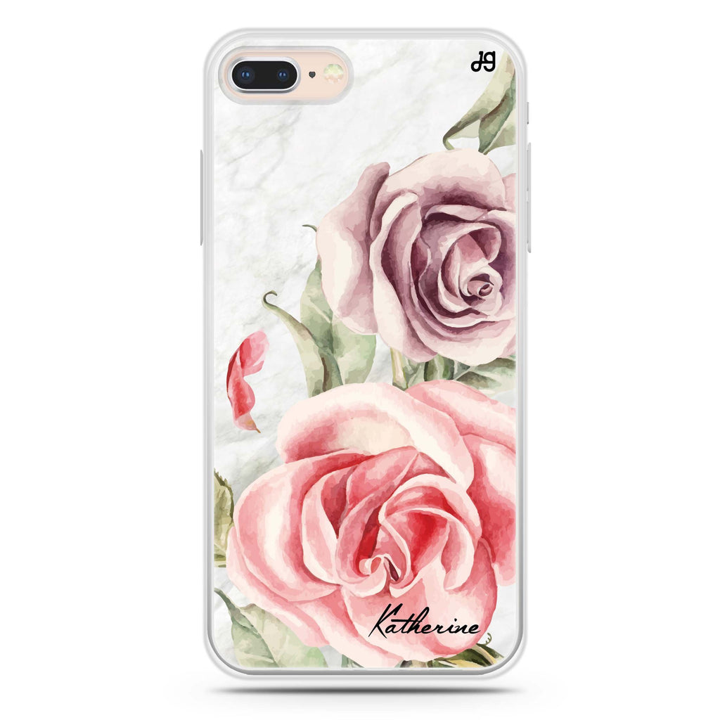 Marble & Rose iPhone 7 Plus Soft Clear Case