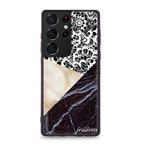 Matching Couple - Black Marble – Deep Love Custom Case