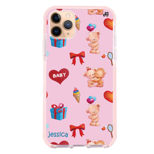 Cute Bear Present Shockproof Bumper Case