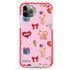 Cute Bear Present Frosted Bumper Case