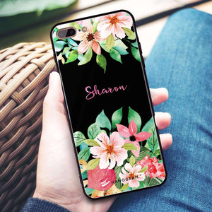 Floral Life iPhone 8 Plus Glass Case