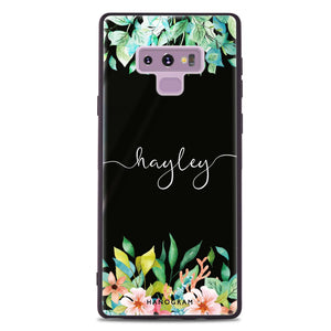 Floral Imagination Samsung Note 9 Glass Case