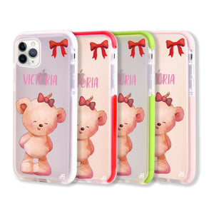 Bear Lovely Shockproof Bumper Case