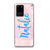 Pink Aqua Samsung S20 Ultra Soft Clear Case