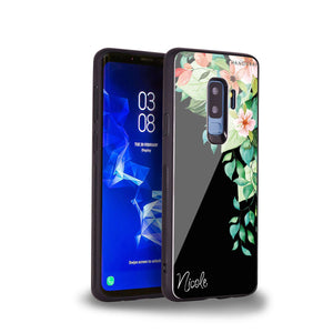 Secret Flower Samsung S9 Plus Glass Case