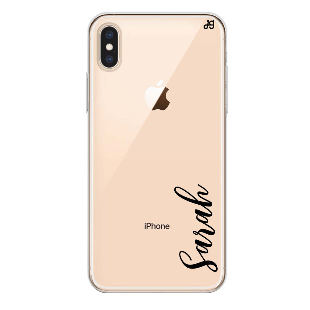 Falling For You iPhone XS Max Soft Clear Case