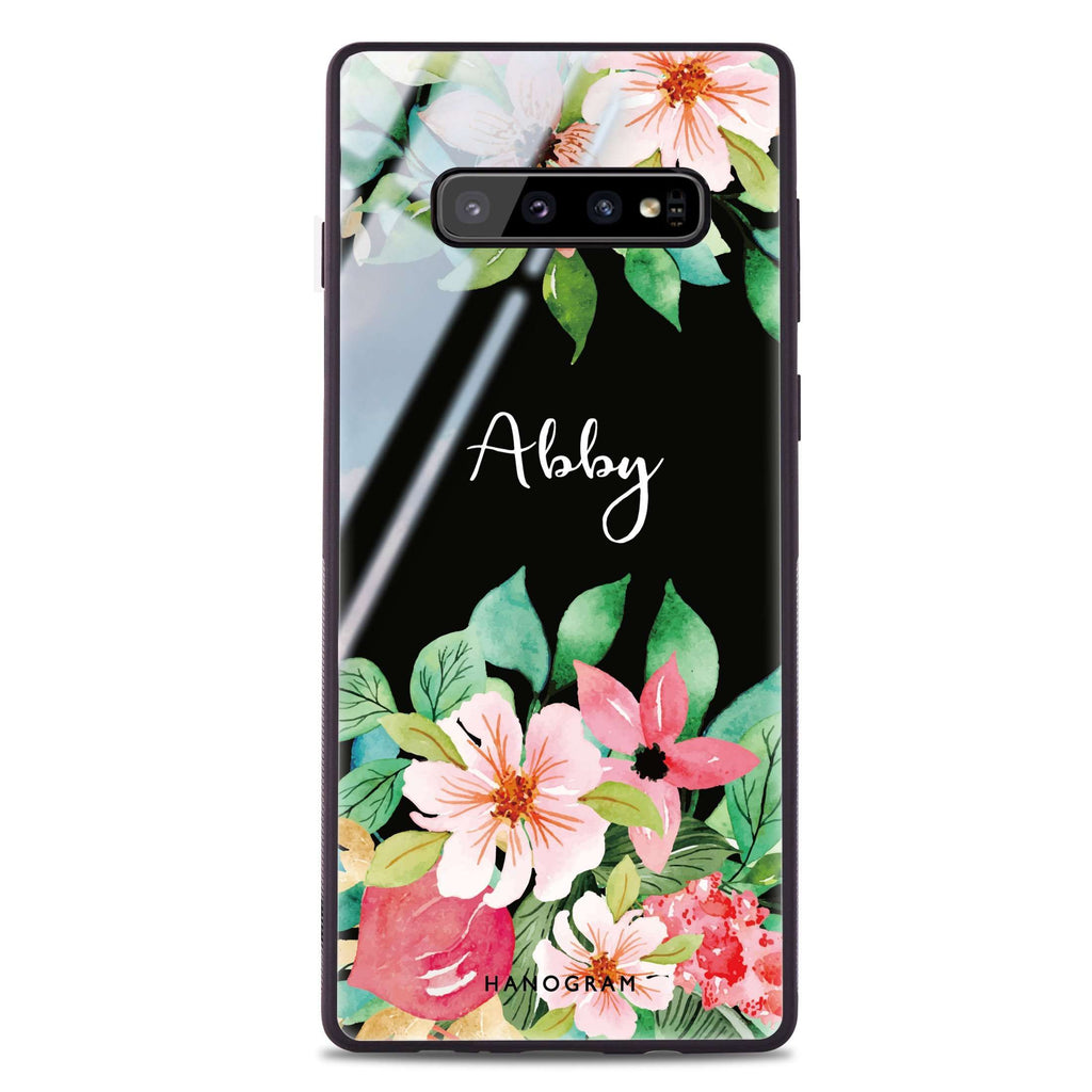 Floral Life Samsung S10 Plus Glass Case