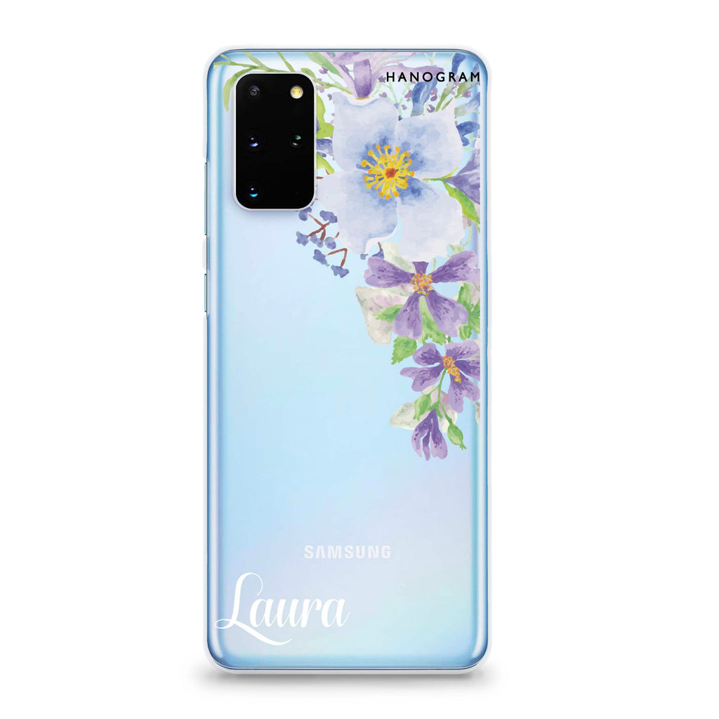 Fragrance of Flower Samsung S20 Plus Soft Clear Case