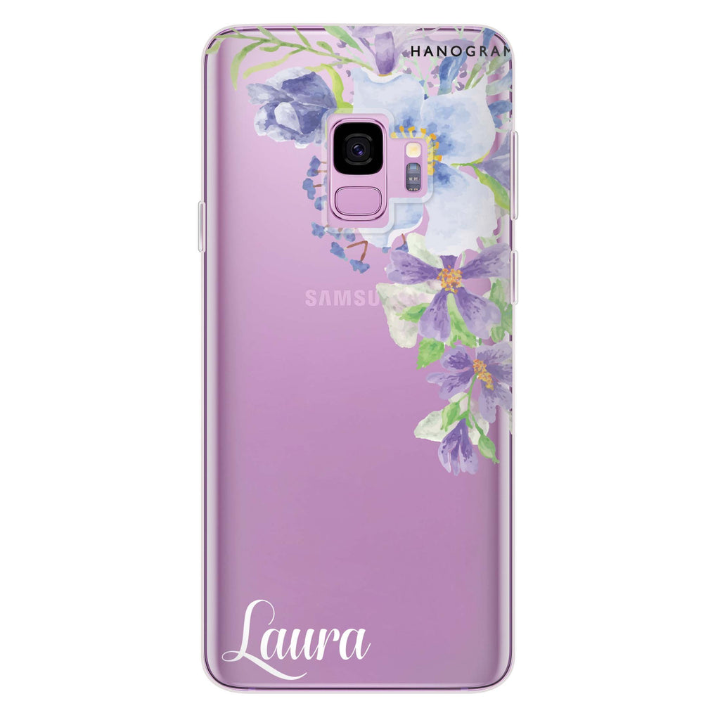 Fragrance of Flower Samsung S9 Soft Clear Case