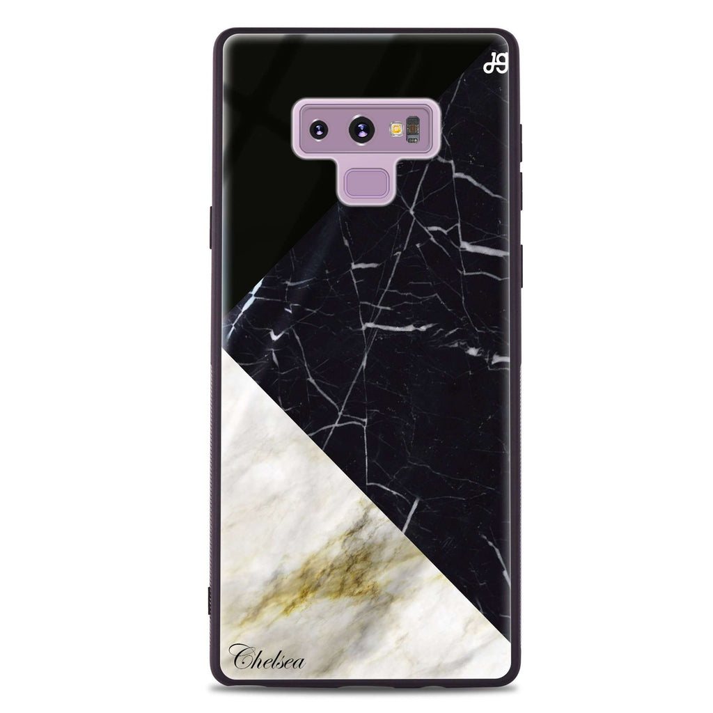 Marble Mix Samsung Note 9 Glass Case