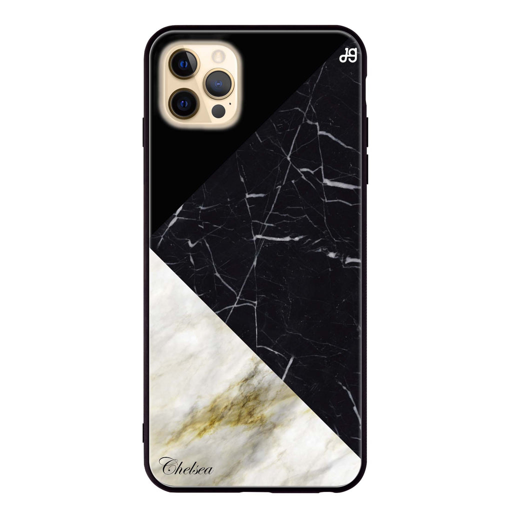 Marble Mix Glass Case